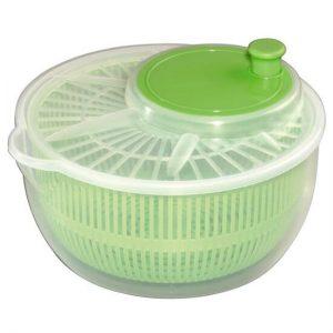 salad spinner to wash microgreens