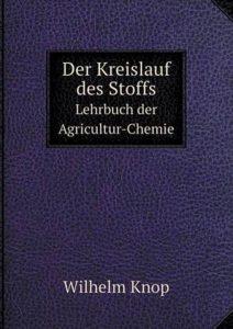 Wilhelm Knop first publication on hydroponics